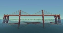 [ Golden Gate Bridge ] [ Downloadable ] Minecraft Map & Project