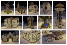 Desert village build pack Minecraft