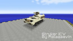 M1126 Stryker ICV: Military Vehicle Minecraft Map & Project