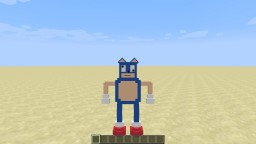 Sanic The Hedgehog in one command! Minecraft Map & Project