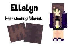€łłα | Ellalyn's Hair Shading Tutorial Minecraft Blog Post
