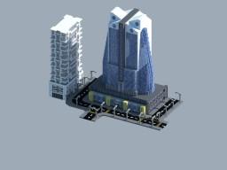 Build Of Majoras   MDRN Skyscraper Minecraft Map & Project