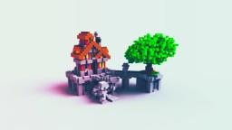 Simple build. Minecraft Project