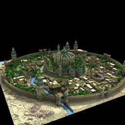 """✽Medieval Desert City ✽ """"Armashan"""" ✽ Minecraft Map & Project"""