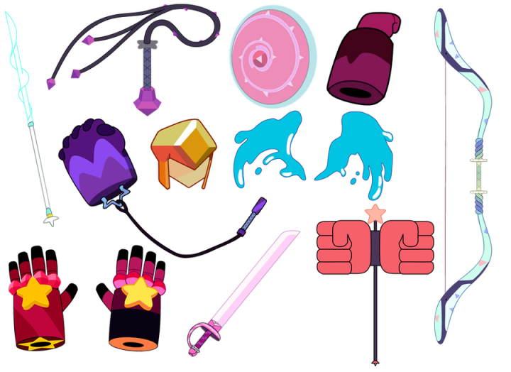 Su Theory The Secrets Of Gem Weapons Part 1 Minecraft Blog