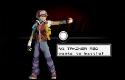 Pokémon Trainer Red (Commission for AriaCreations)