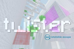 Twister - 360° rotatable escape [1.10.2+][ENG/PL] Minecraft Project