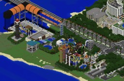 Huge Water Park - Largest In Minecraft Minecraft Map & Project