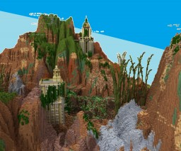 Ghyll Canyon Minecraft Project