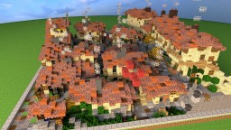 50x50 VILLAGE ROMAIN - by D-fantome Minecraft