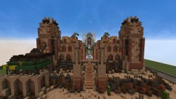 Desert Palace Minecraft Map & Project