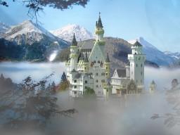 Neuschwanstein castle Minecraft