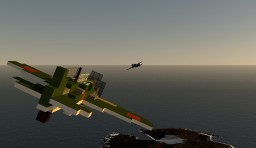 A6M Zero (2:1) Minecraft Map & Project