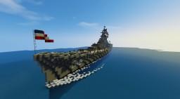 USS Salem (CA-139) Minecraft Project
