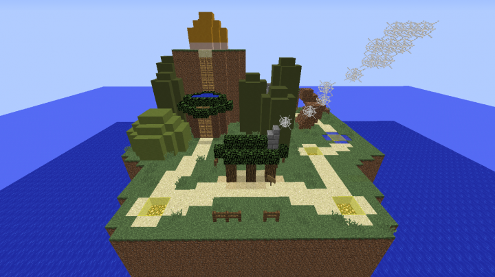 Super mario world map replica minecraft project super mario world map replica the starting area gumiabroncs Image collections