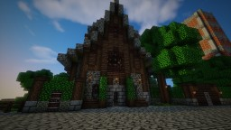 Medieval Estate Minecraft Map & Project