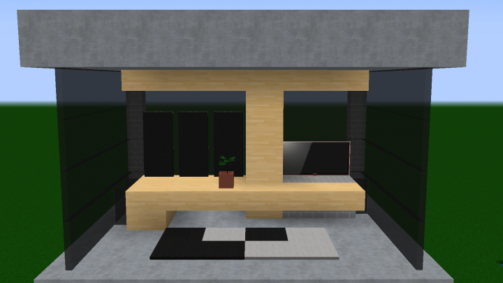 DÉCORATION: bureau Minecraft Project