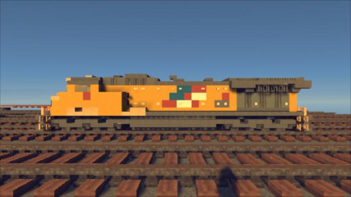 Build Train Minecraft
