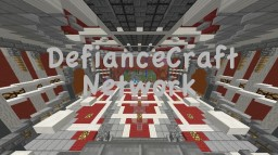 DefianceCraft PvP - [256 slots][Custom Plugins][MobArena] Minecraft Server