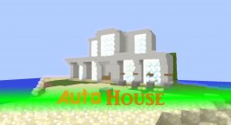 AutoHouse -  Automount Building A House - By BxPLAY Minecraft Map & Project