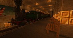 Modern Subway Station - Rails of War Station Minecraft Map & Project