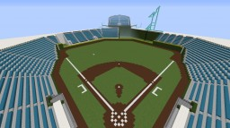 The Coors Field realistic 1:1 Scale Minecraft Map & Project