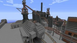 "Working Blast Furnace (Amber Furnace 3rd Anniversary ""Update"") *MAJOR WIP* Minecraft Map & Project"