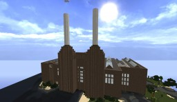 Battersea Power Station, London (London not included) Minecraft
