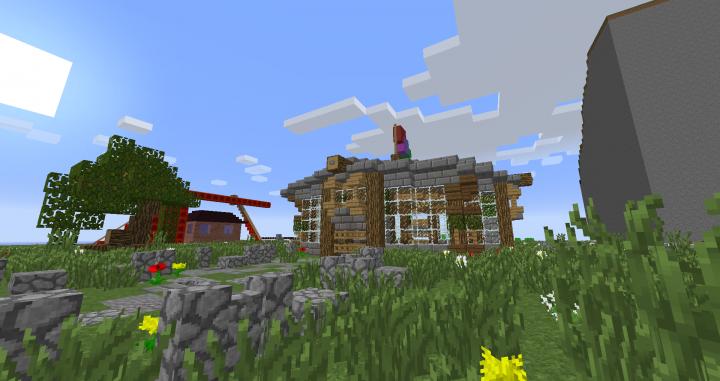 HCF Base Build Minecraft Project