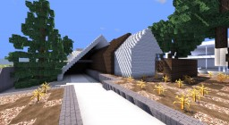 Gakuso -  A frame Modern House. Minecraft Map & Project