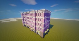 275 Colombus Ave New York Minecraft Project