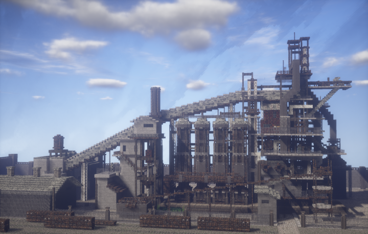 how to make blast furnace in minecraft