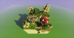Fantasy hills - [Creation Spirit app] Minecraft Map & Project