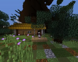 Little house in the big Woods - In the Trees Contest Entry Minecraft Map & Project