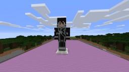 Kirito Statue Schematic Minecraft Map & Project