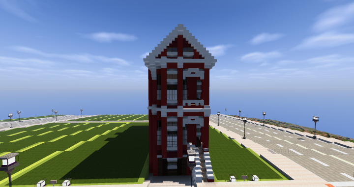 San Francisco Townhouse | WoK Minecraft Project | 720 x 381 png 288kB