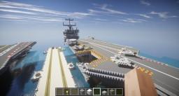 USS Enterprise CVN-65 Minecraft Map & Project
