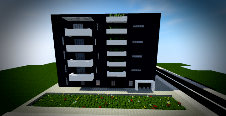 Batiment Moderne Minecraft Tutorials