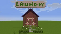 Cute Laundry (With MadPixels texturepack) [1.7.2] (Note! inside it is decorated ! =) Minecraft Map & Project