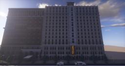 Skyline Restaurant Minecraft Project