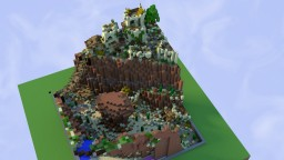 Oro - 50x50 - a desert village by D_fantome Minecraft