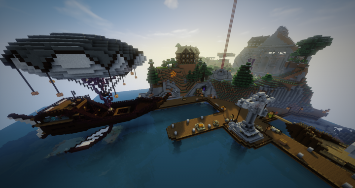 Explore a vast open world, and create your own settlements on our Towny server Scarlet!