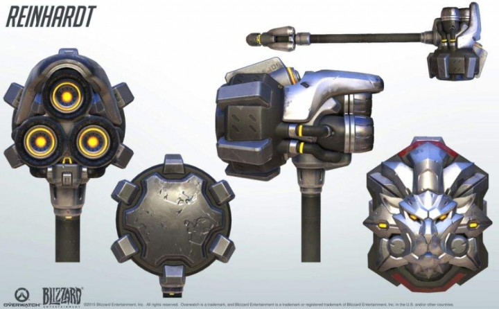Reinhardt s Hammer From The Game