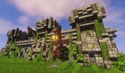 Medieval Barracks Minecraft