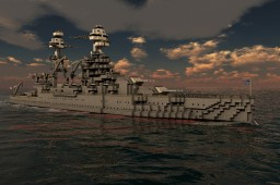 USS Arizona (BB-39) Minecraft