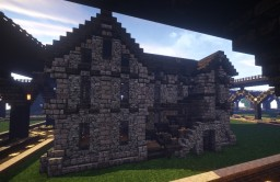 Medieval House [Unfurnished] Minecraft Project
