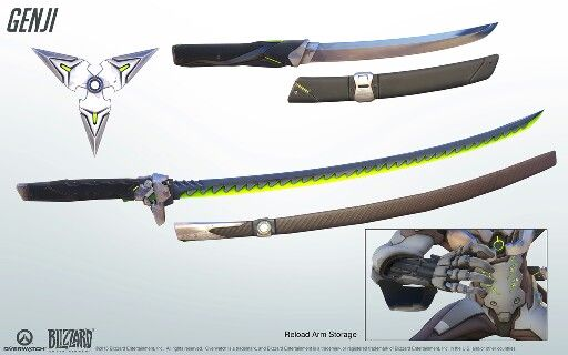 Genji s Katana From The Game