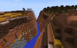 Canyon Challenge Minecraft Map & Project