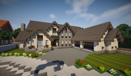 Traditionnal House Minecraft Project