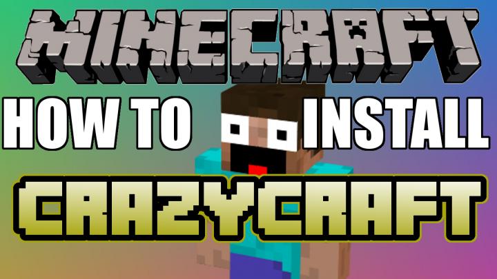 Minecraft   How To Install Crazy Craft